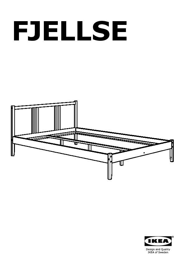 fjellse cadre de lit pin l nset ikea france ikeapedia. Black Bedroom Furniture Sets. Home Design Ideas