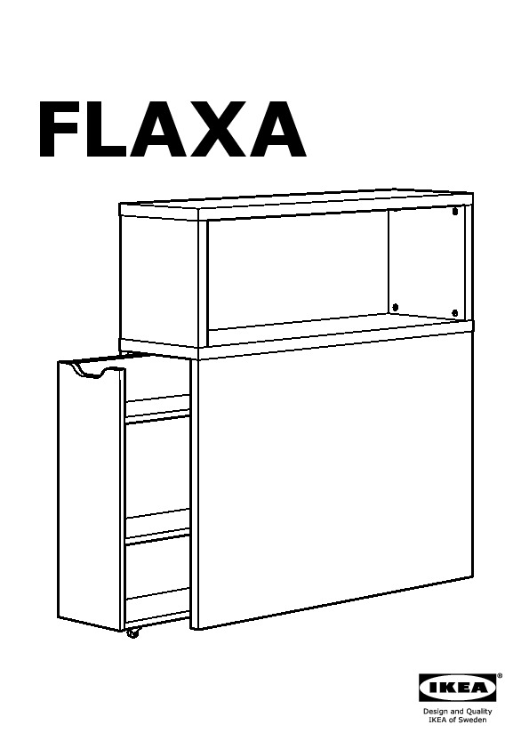 official photos 170fc a4477 FLAXA Headboard with storage compartment white (IKEA Canada ...