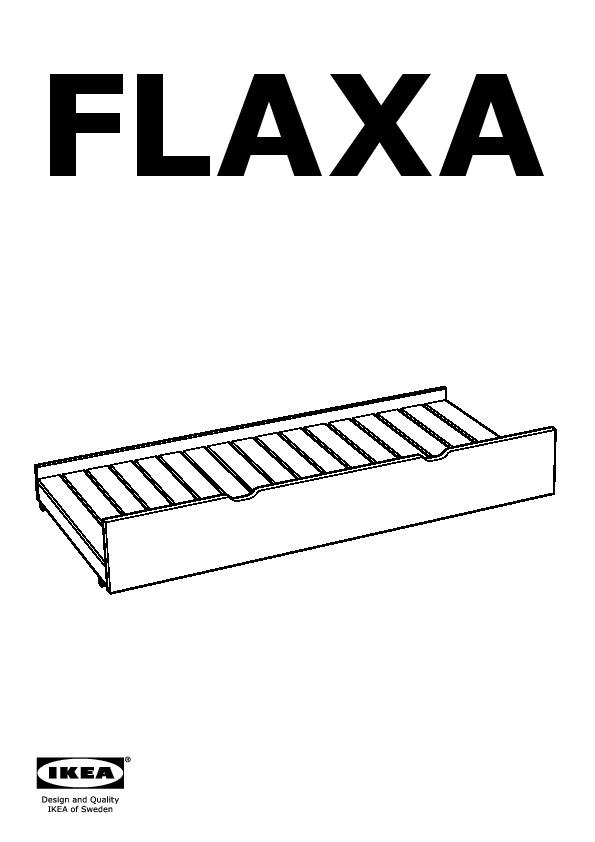 free flaxa lit tiroir with lit flaxa. Black Bedroom Furniture Sets. Home Design Ideas
