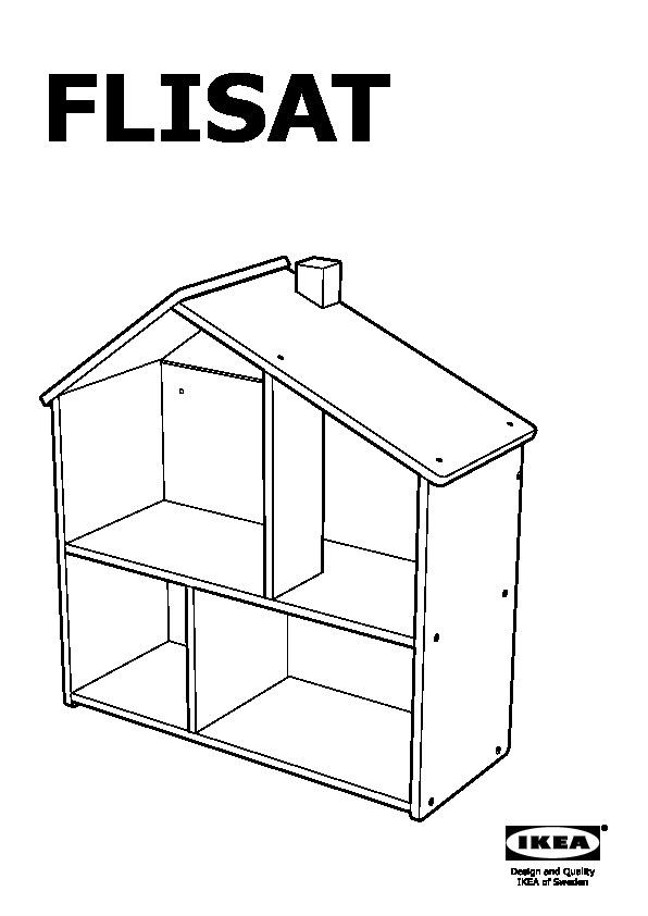 Flisat Casa Delle Bambole Scaffale Ikea Italy Ikeapedia