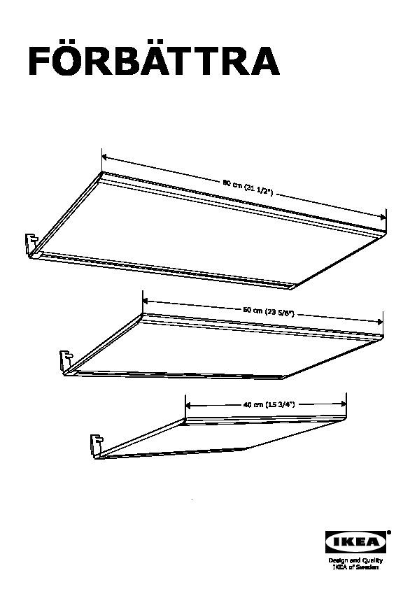 FÖRBÄTTRA Illuminazione sottopensile a LED bianco opalino (IKEA ...