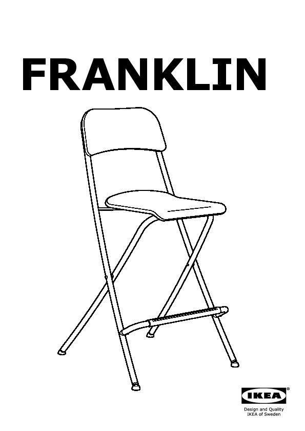 Sensational Franklin Bar Stool With Backrest Foldable White Silver Theyellowbook Wood Chair Design Ideas Theyellowbookinfo