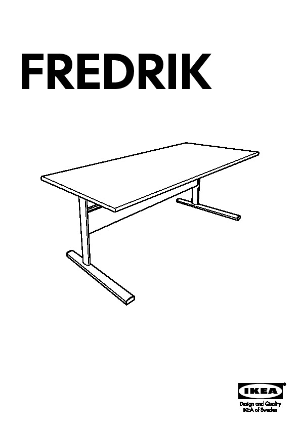 Fredrik Bureau Blanc Ikea France Ikeapedia