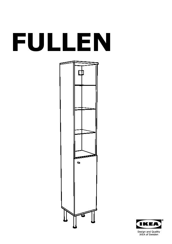 FULLEN High cabinet white (IKEA United Kingdom) IKEAPEDIA
