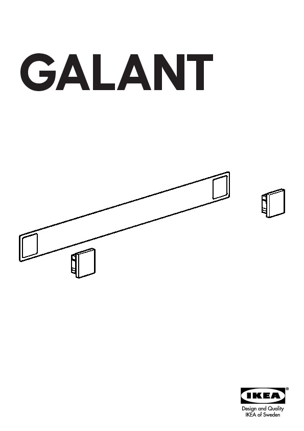 00105554 Galant Assembly Instruction