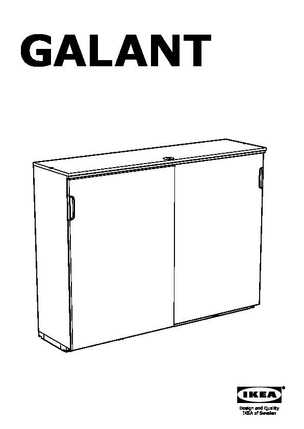 Mobile Ante Scorrevoli Ikea.Galant Mobile Con Ante Scorrevoli Marrone Nero Ikea Italy Ikeapedia