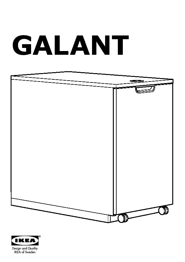 Exceptionnel GALANT Storage Unit For Printer