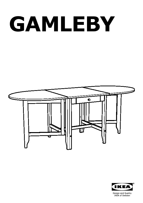 gamleby table rabat teint antique clair gris ikea france ikeapedia. Black Bedroom Furniture Sets. Home Design Ideas
