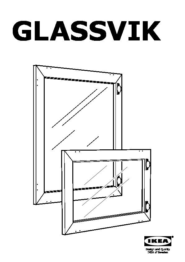 Besta Glassvik Instructions