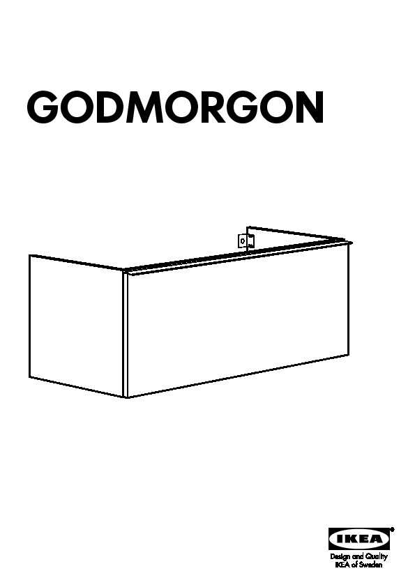 godmorgon odensvik sink cabinet with 1 drawer white ikea united states ikeapedia. Black Bedroom Furniture Sets. Home Design Ideas