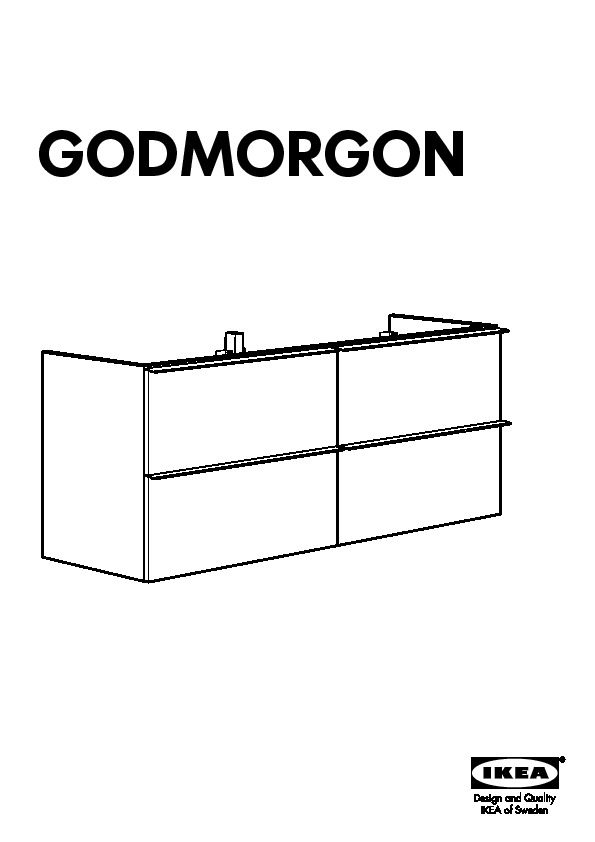godmorgon sink cabinet with 4 drawers high gloss white ikea united states ikeapedia. Black Bedroom Furniture Sets. Home Design Ideas