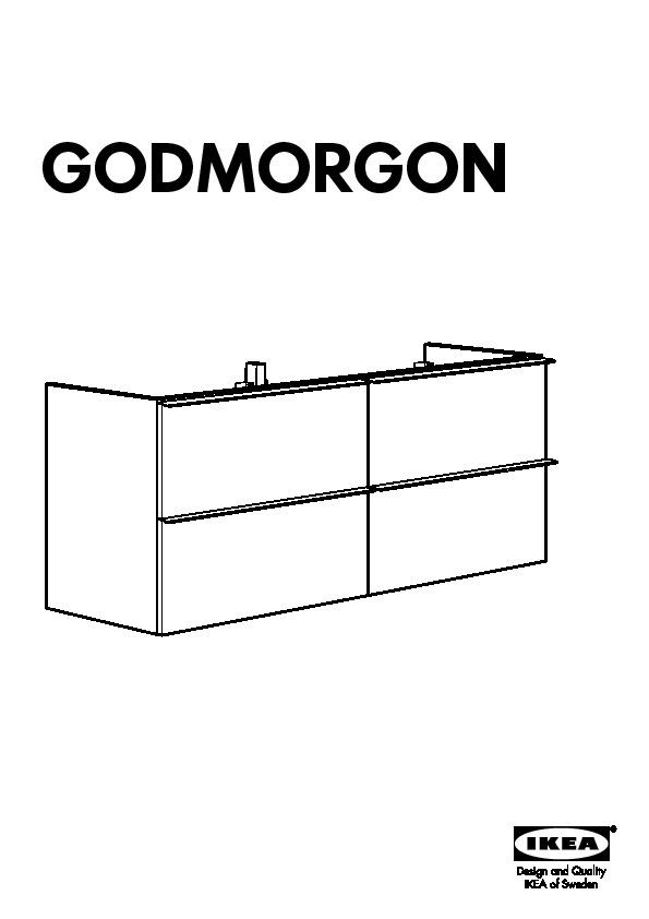 godmorgon odensvik meuble lavabo 4tir brillant gris ikea france ikeapedia. Black Bedroom Furniture Sets. Home Design Ideas