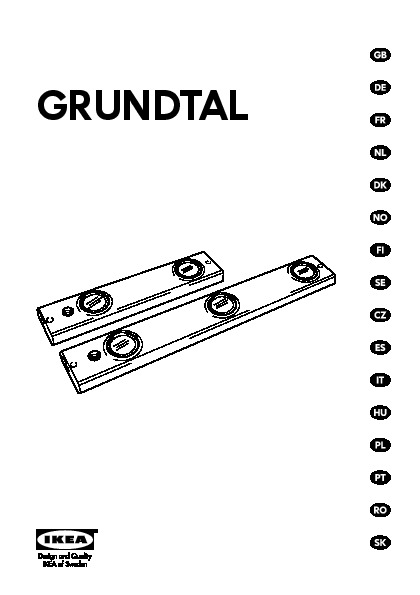 Grundtal Eclairage Plan De Travail Halogene Blanc Ikea France