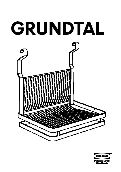 Grundtal Dish Drainer Stainless Steel Ikea Canada English