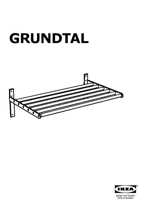 grundtal tendoir mural acier inoxydable ikea switzerland ikeapedia. Black Bedroom Furniture Sets. Home Design Ideas