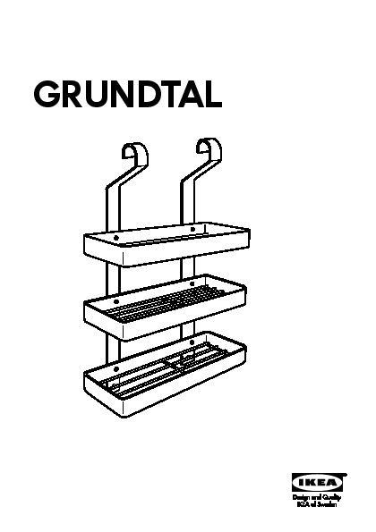 Grundtal tag re pices acier inoxydable ikea france for Ikea grundtal spice rack