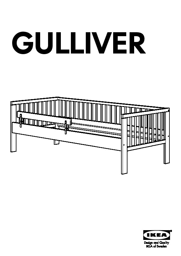 Gulliver Bed Ikea Instructions