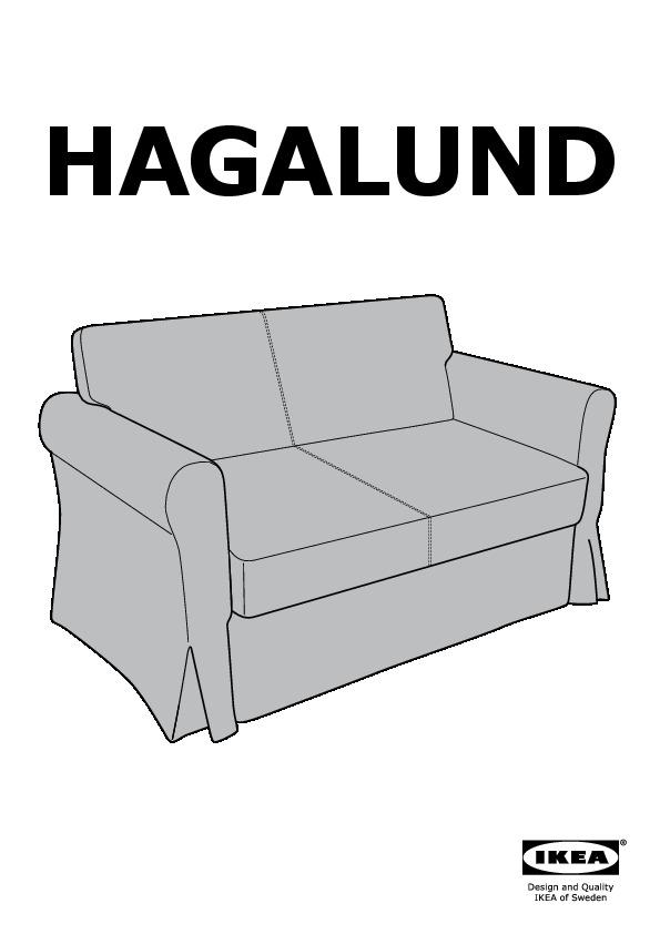 Ikea Divano Letto Due Posti.Hagalund Divano Letto A 2 Posti Blekinge Bianco Ikea Italy