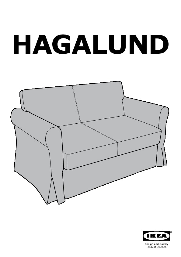 hagalund convertible 2 places blekinge blanc ikea france. Black Bedroom Furniture Sets. Home Design Ideas
