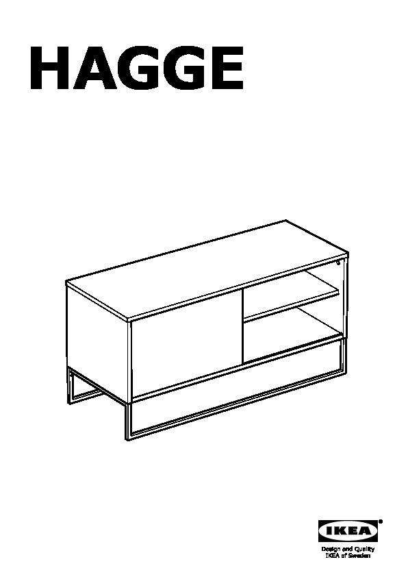 HAGGE Banc TV noir (IKEA France) - IKEAPEDIA | title