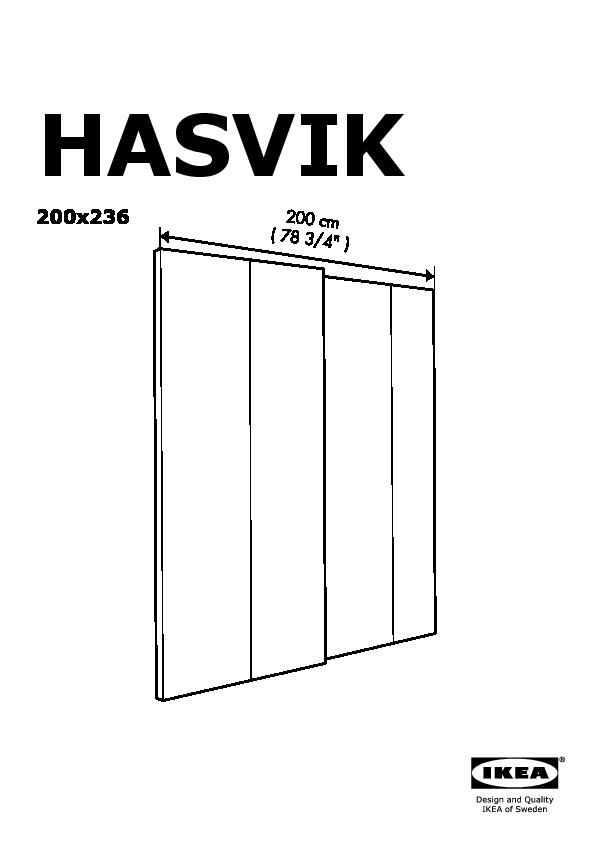 Sistema Ante Scorrevoli Ikea.Pax Guardaroba Con Ante Scorrevoli Bianco Hasvik Bianco Ikea Italy