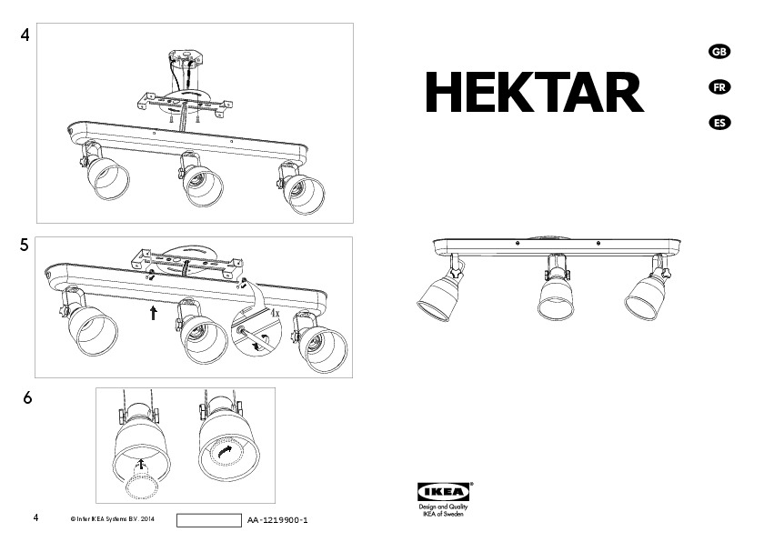 Hektar ceiling track 3 spotlights bronze color ikea for Ikea tracking usa