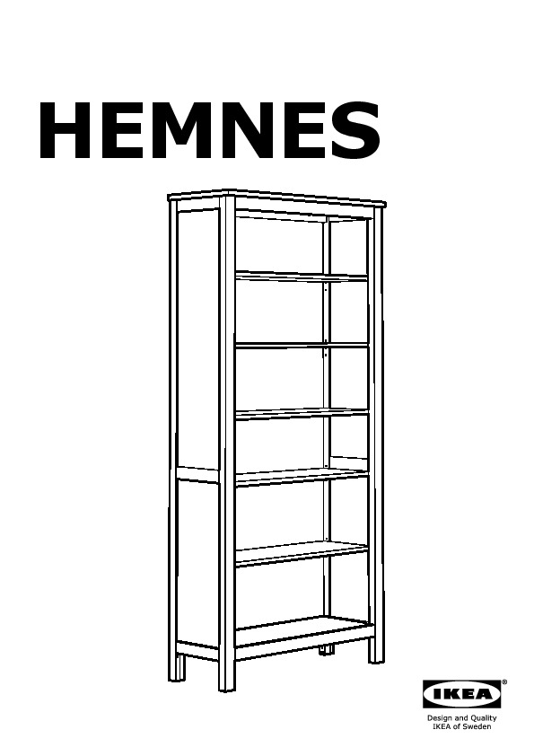 hemnes biblioth que ikea france ikeapedia. Black Bedroom Furniture Sets. Home Design Ideas