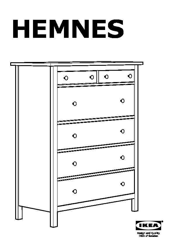 HEMNES Commode 6 tiroirs teintu00e9 blanc (IKEA Switzerland) - IKEAPEDIA