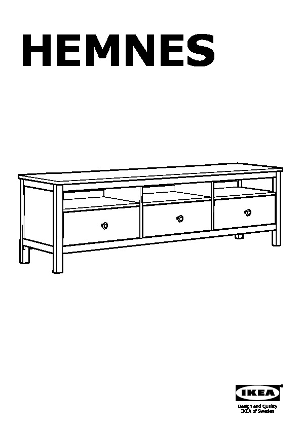 Hemnes Meuble Tele Brun Noir Ikea Canada French Ikeapedia