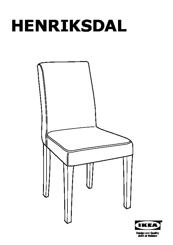 HENRIKSDAL chaise