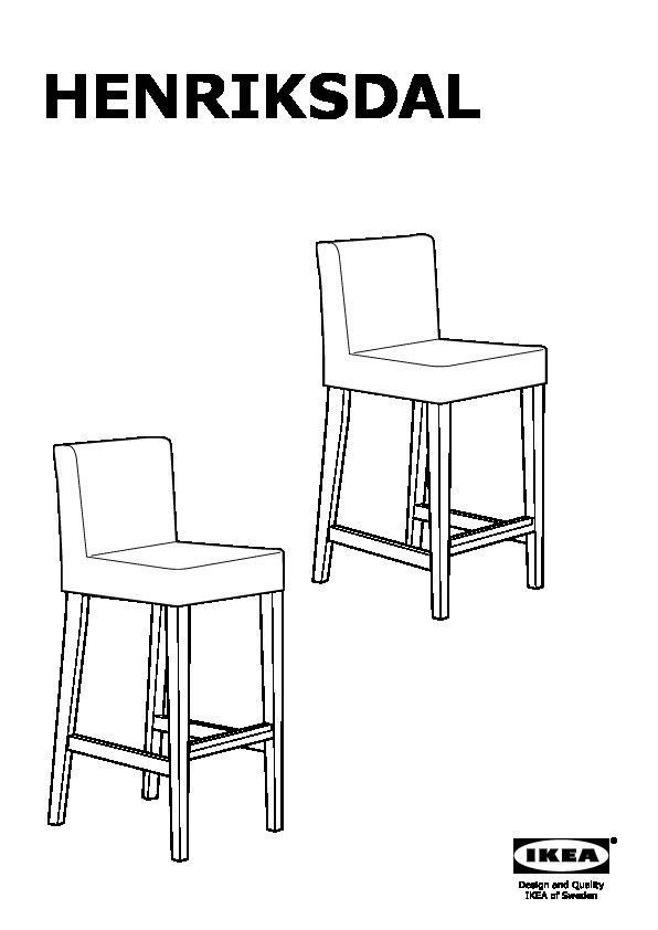 henriksdal housse perfect ektorp jennylund housse de fauteuil with henriksdal housse amazing. Black Bedroom Furniture Sets. Home Design Ideas