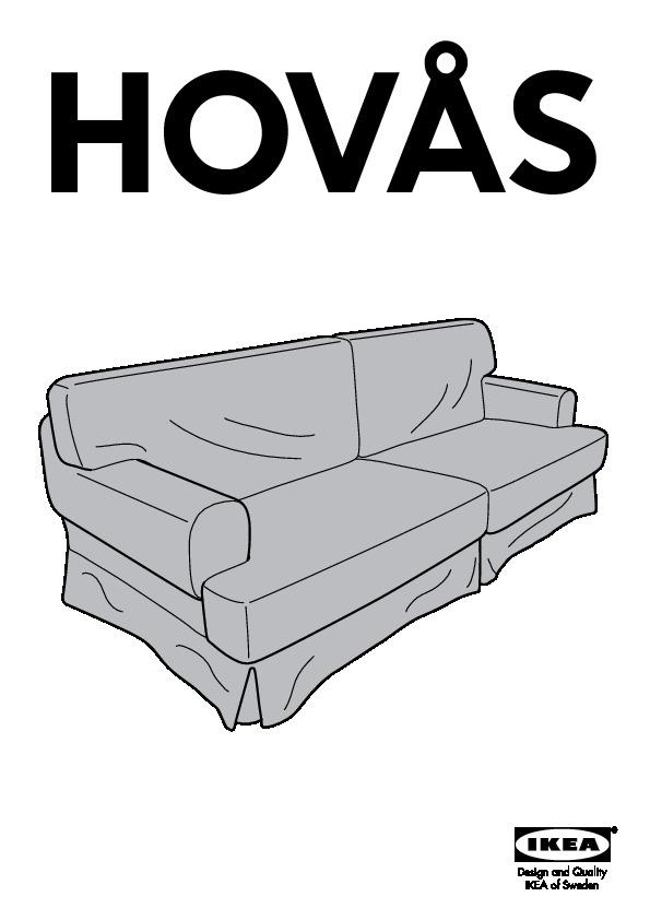 HOVÅS Sofa Cover