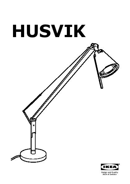 Husvik Work Lamp Silver Colour Ikea United Kingdom Ikeapedia