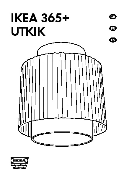 ikea 365 utkik ceiling lamp white ikea united states ikeapedia. Black Bedroom Furniture Sets. Home Design Ideas