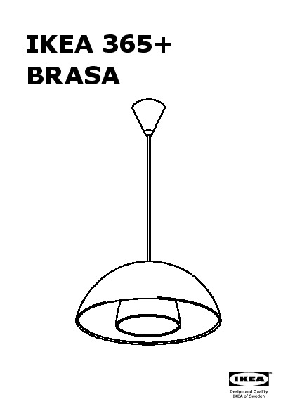 ikea 365 brasa abat jour suspension noir ikea france. Black Bedroom Furniture Sets. Home Design Ideas