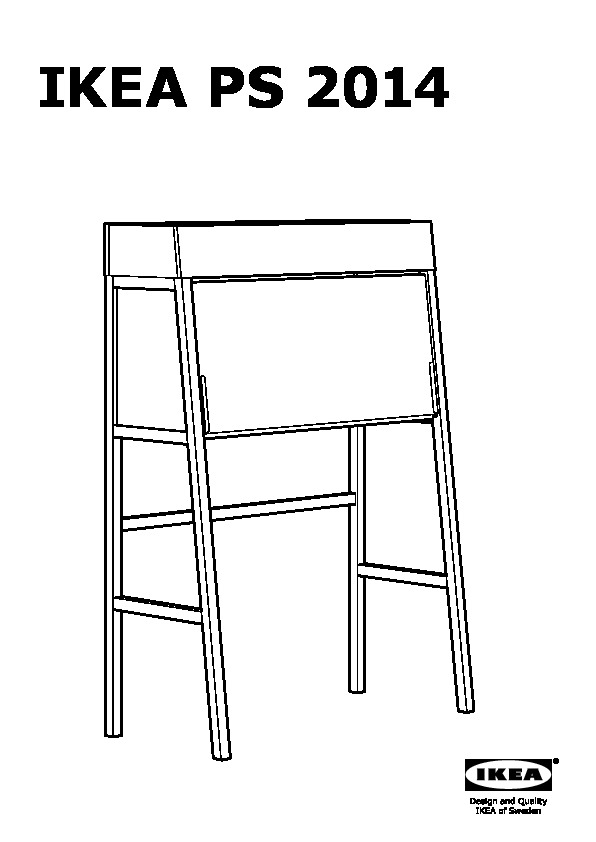 ikea ps 2014 bureau white birch veneer ikea united kingdom ikeapedia. Black Bedroom Furniture Sets. Home Design Ideas