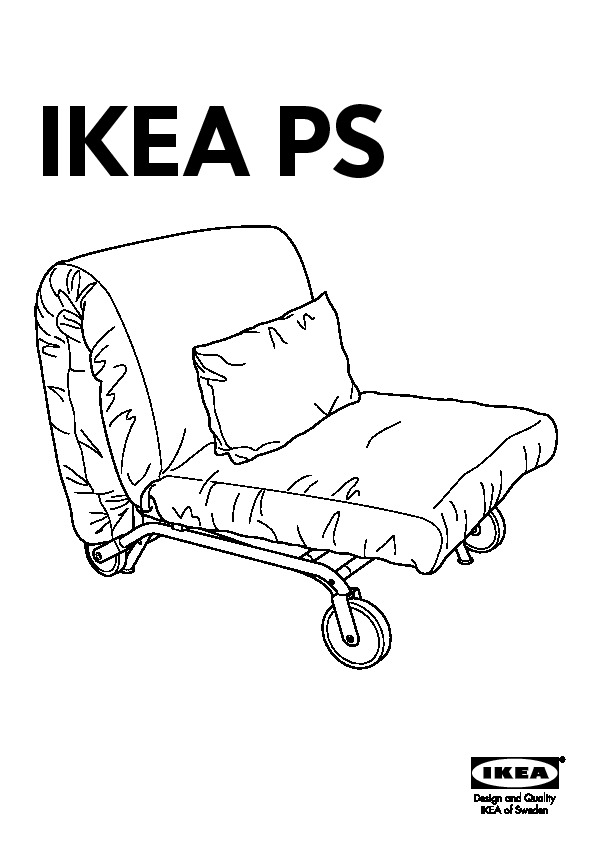 ikea ps murbo chauffeuse convertible vansta rouge ikea france ikeapedia. Black Bedroom Furniture Sets. Home Design Ideas