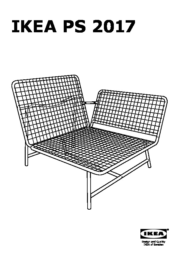 ikea ps 2017 causeuse blanc gris ikea canada french ikeapedia. Black Bedroom Furniture Sets. Home Design Ideas