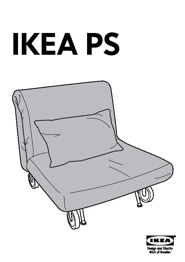 ikea ps housse chauffeuse convertible - Ikea Chauffeuse Convertible