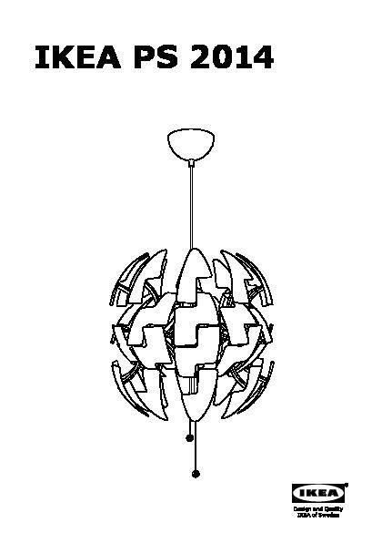 ikea ps 2014 lampada a sospensione bianco color argento ikea italy ikeapedia. Black Bedroom Furniture Sets. Home Design Ideas