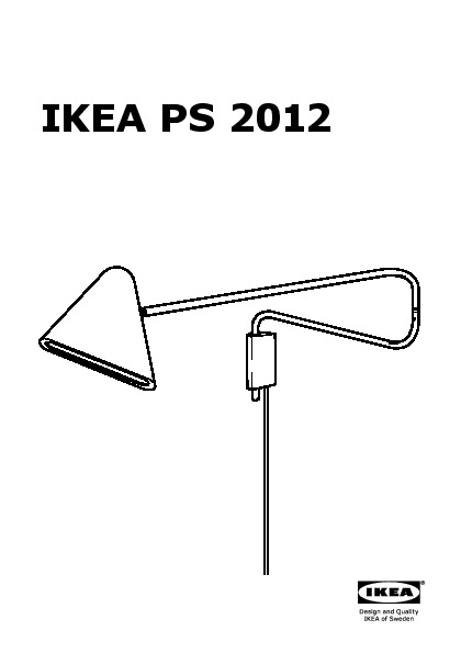 ikea ps 2012 lampe murale led rouge ikea france. Black Bedroom Furniture Sets. Home Design Ideas