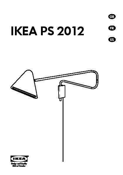 ikea ps 2012 led wall lamp white ikea united states ikeapedia. Black Bedroom Furniture Sets. Home Design Ideas