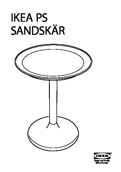 Ikea ps sandsk r table plateau blanc ikea france ikeapedia - Table d exterieur ikea ...