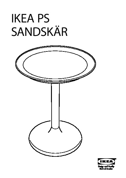 Ikea ps sandsk r table plateau blanc ikea france ikeapedia - Ikea table exterieur ...