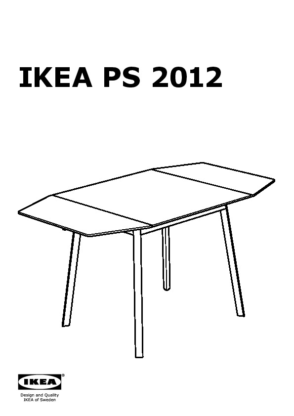 Elegant ikea ps table rabats with table chaises ikea for Table et chaise ikea