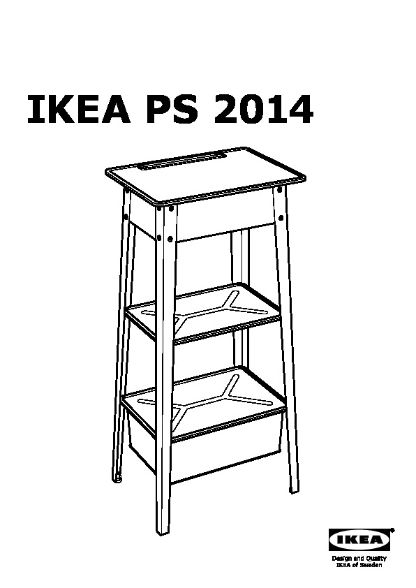 Ikea ps 2014 tavolo per pc portatile bianco ikea italy for Tavolo pc ikea