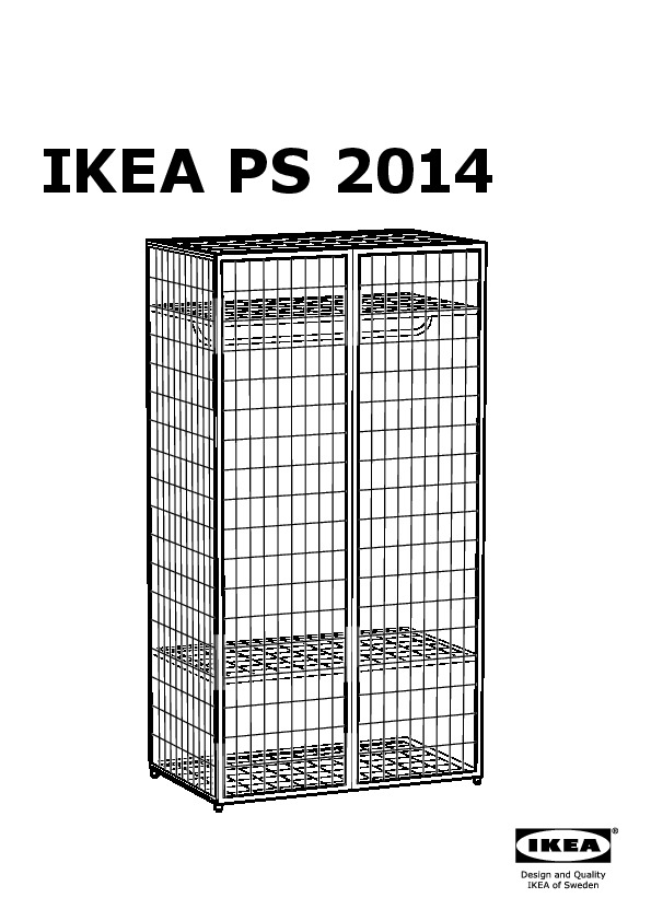 ikea ps wardrobe tidy instructions