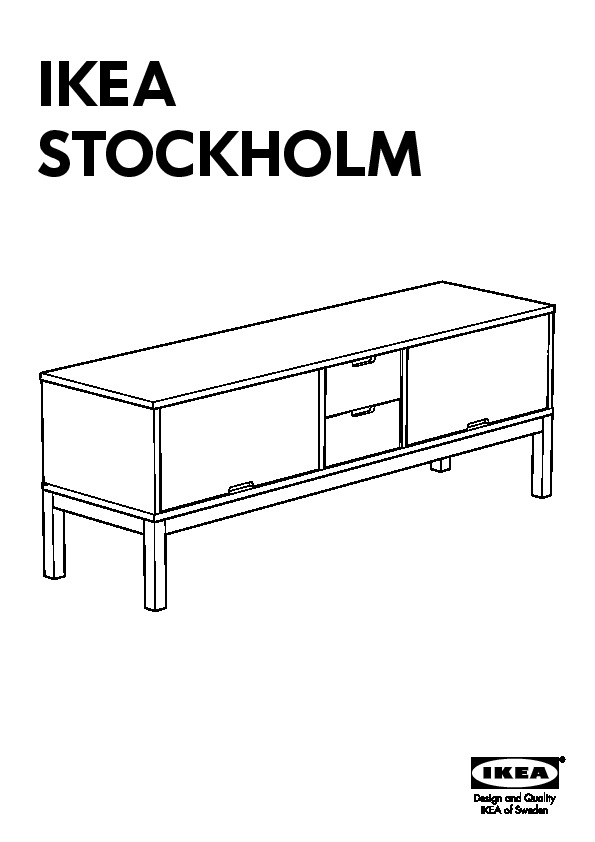 Ikea Stockholm Banc Tv Noir Ikea France Ikeapedia