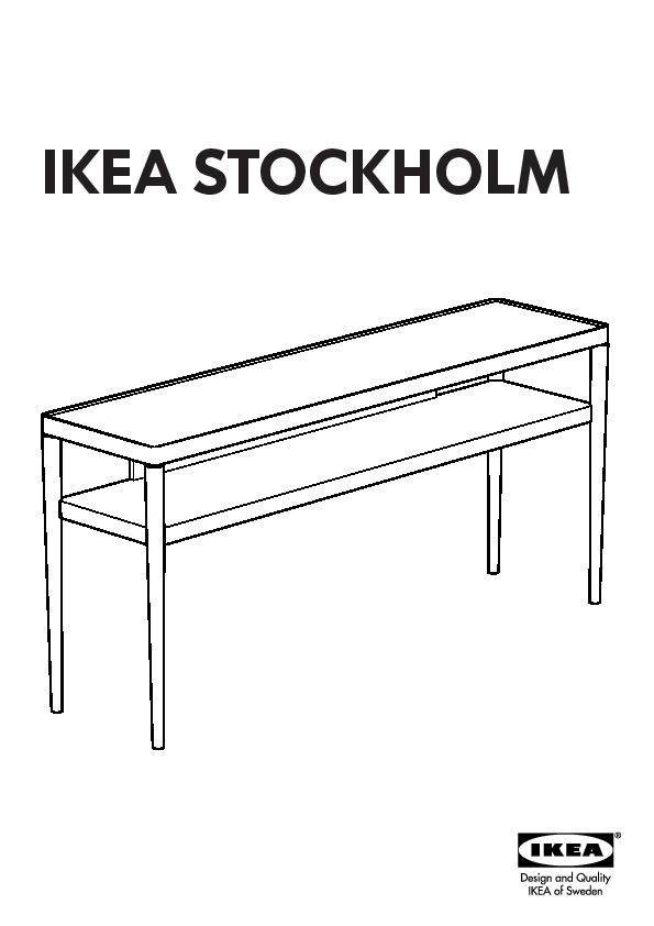 affordable ikea stockholm notice de montage with dessertes ikea. Black Bedroom Furniture Sets. Home Design Ideas