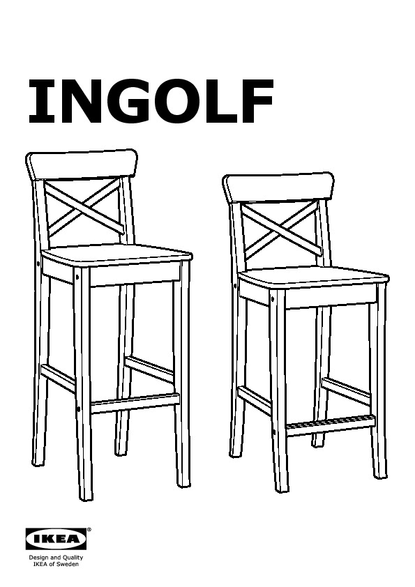 Outstanding Ingolf Bar Stool With Backrest Antique Stain Ikea Canada Andrewgaddart Wooden Chair Designs For Living Room Andrewgaddartcom